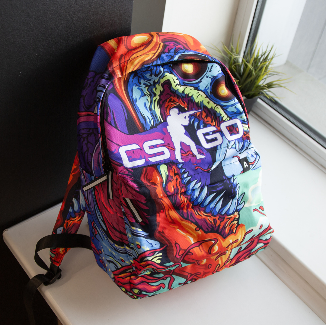 Рюкзак 3D с принтом CS GO – реальное фото